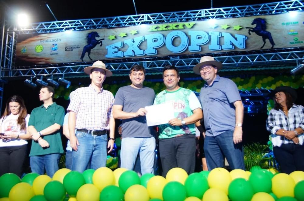 Abertura Expopin 2019