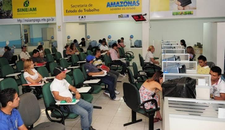 Sine Amazonas divulga 368 vagas de emprego em diversas áreas para hoje