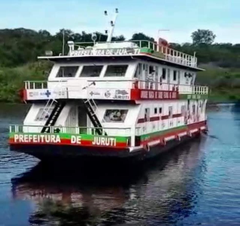 Unidade básica de saúde fluvial adquirida pela Prefeitura de Juruti vai reforçar atendimentos a comunidades ribeirinhas