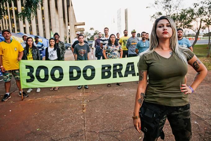 RADICAIS LIVRES -Sara Winter: líder do grupo 300 do Brasil Cristiano Mariz/VEJA