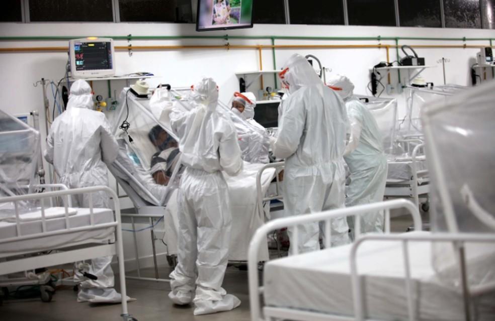 Hospital de campanha de Manaus encerra atividades após dois meses, e prefeitura fala em redução de novos casos de Covid-19