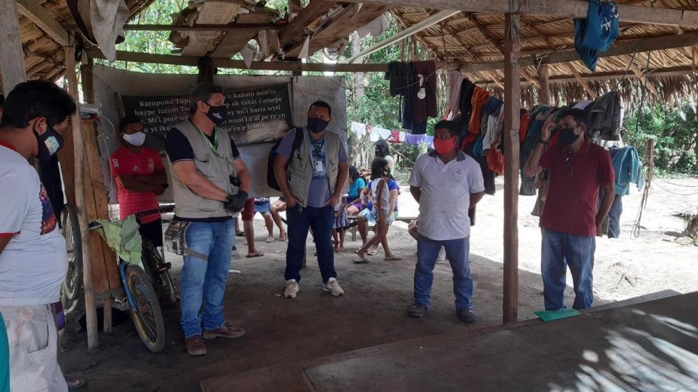 Funai e Sesai visitam Juruti para monitorar grupo indígena residente no município