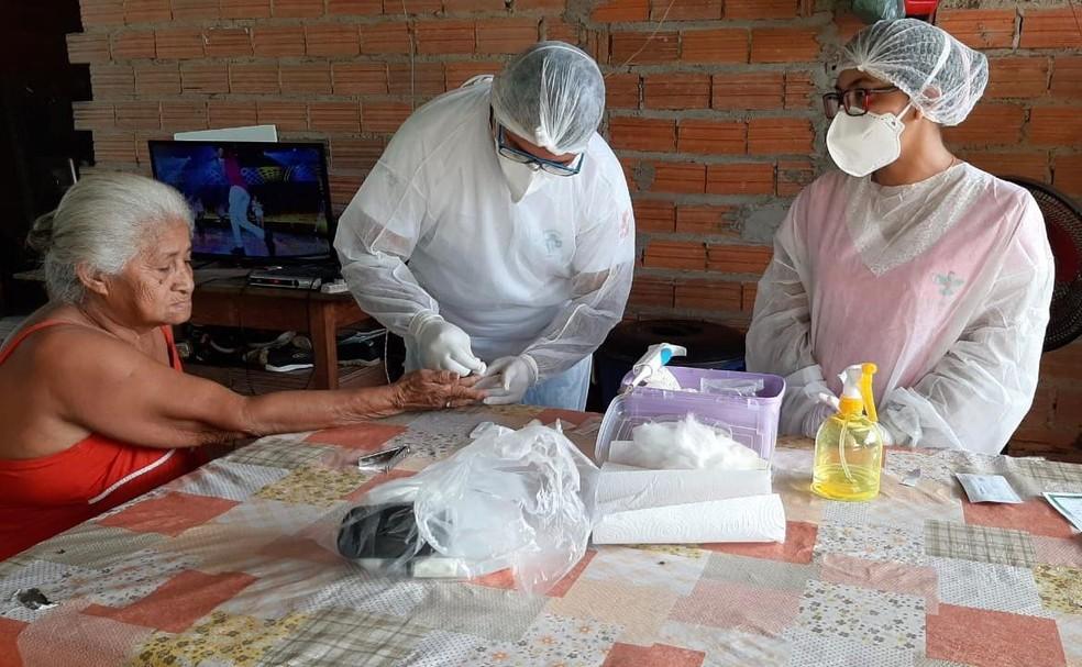 Busca ativa de sintomáticos respiratórios é intensificada na zona rural de Juruti, no PA