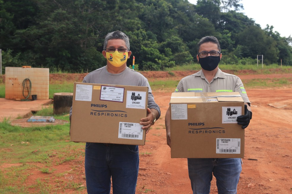 Mineradora realiza entrega de respiradores para os municípios de Oriximiná, Terra Santa e Faro