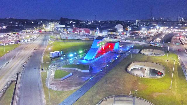 Memorial da Cabanagem, obra de Oscar Niemeyer, foi entregue revitalizado para a população paraense. Foto: Kleberson Santos