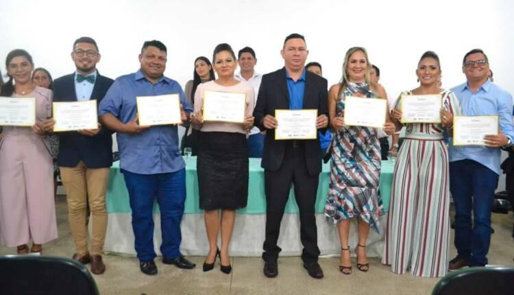 O dez suplentes também receberam seus respectivos diplomas e estão à disposição do novo Conselho, que atuará no quadriênio 2020/2024.. Foto: Eldiney Alcantara