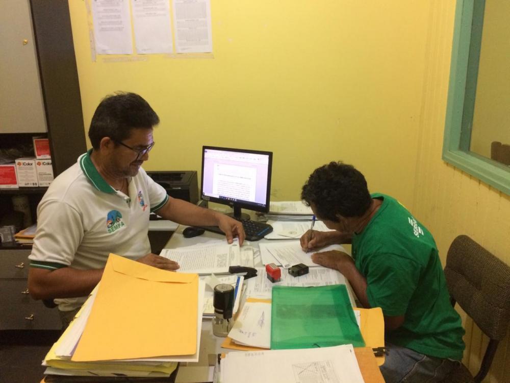Assinatura do Termo de Cessão de Uso de Bem Móvel aconteceu na sede da Sempa