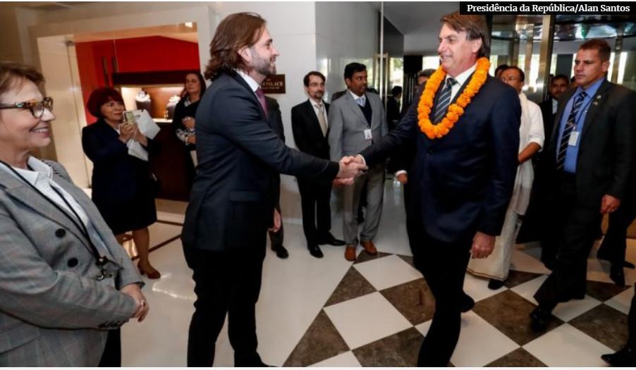Vicente Santini ainda na Índia com Bolsonaro