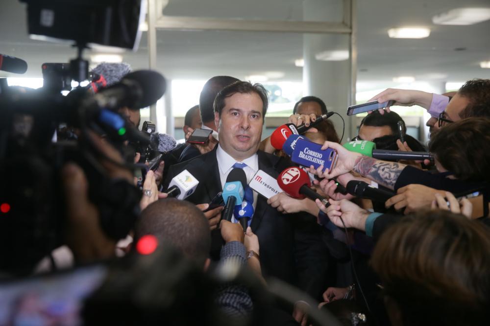 Rodrigo Maia deu sinais que pretende não incluir na pauta o projeto. (Foto: J. Batista/Agência Câmara)