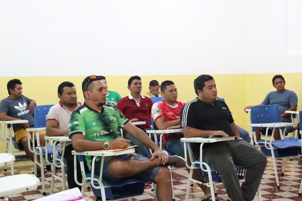 Após reunião, jogos da Copa Alvorada podem voltar ao Ginásio Elias Assayag, em Parintins