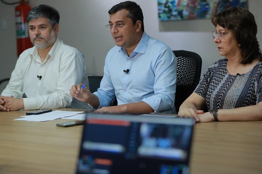 Governador decreta situação de emergência por causa do Covid-19. (Foto: Diego peres/Secom)