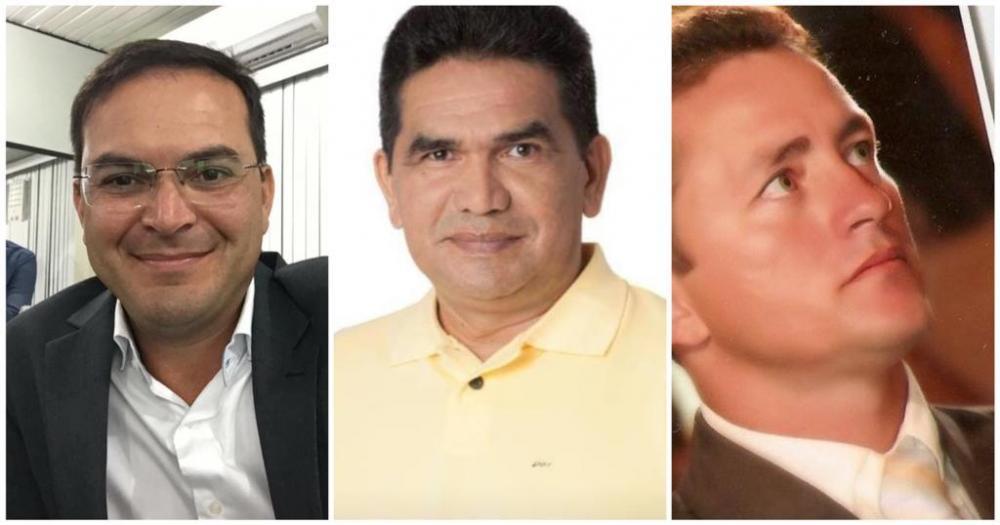 Mateus Assayag, Edy Albuquerque e Clerton Rodrigues.