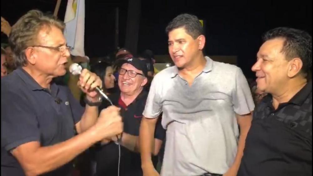 Pauderney Avelino é aliado de longas datas do prefeito Bi Garcia