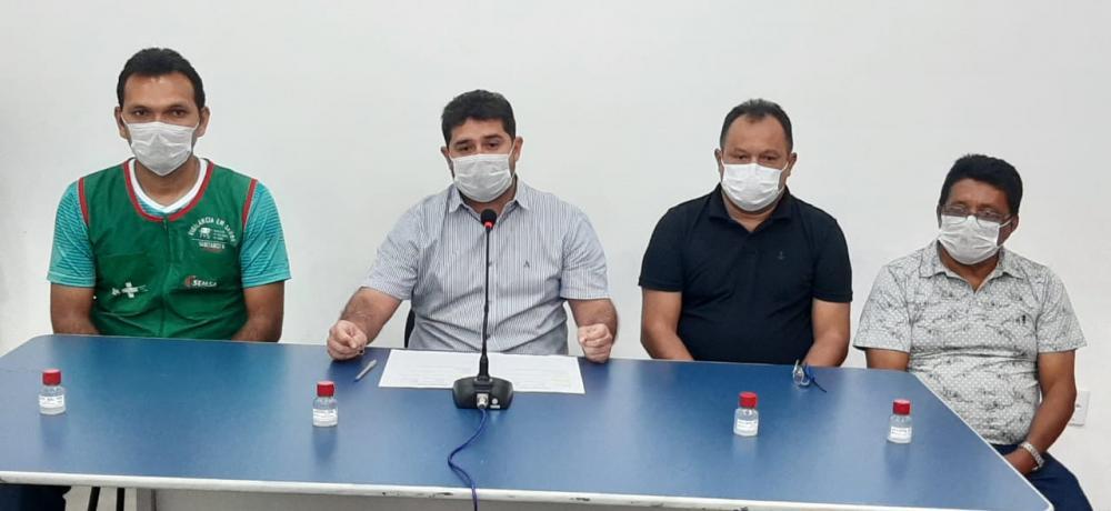 Prefeito de Barreirinha, Glênio Seixas, tem tido resultado positivo nas ações de combate ao Coronavírus até o momento nenhum caso foi registrado.