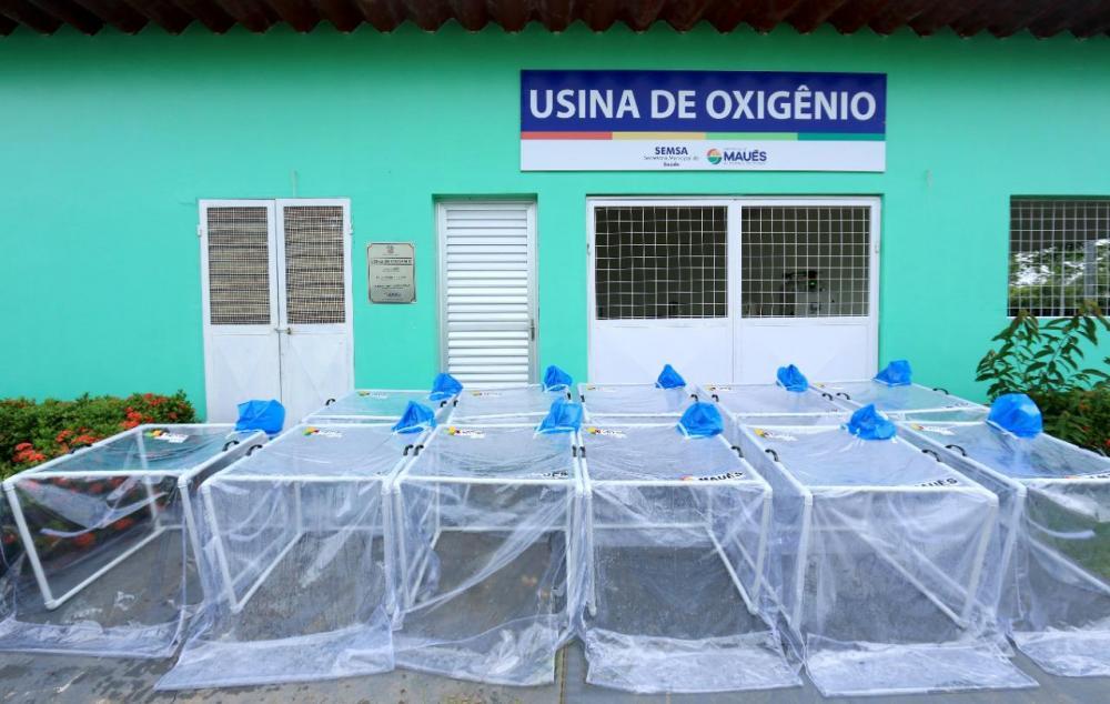 Maués produz as próprias cápsulas de respiração não-invasiva a maioria delas construídas por indígenas Sateré Mawé
