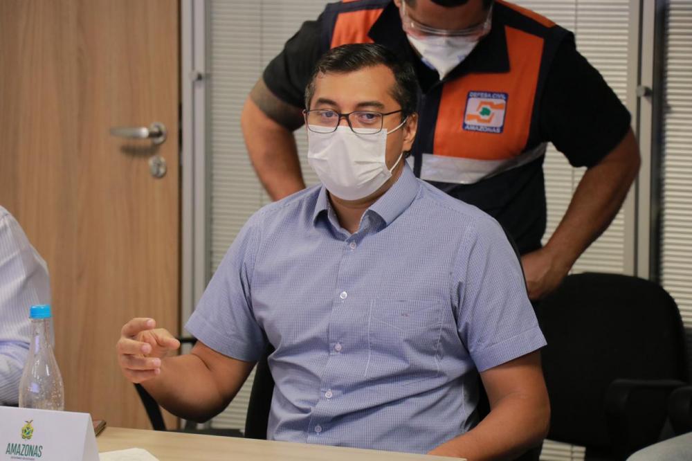 Wilson Lima volta a anunciar hospital de campanha para os indígenas