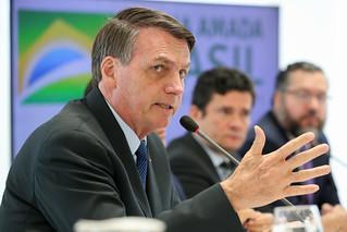 Jair Bolsonaro ameaçou demitir Moro caso não pudesse trocar o comando da Polícia Federal