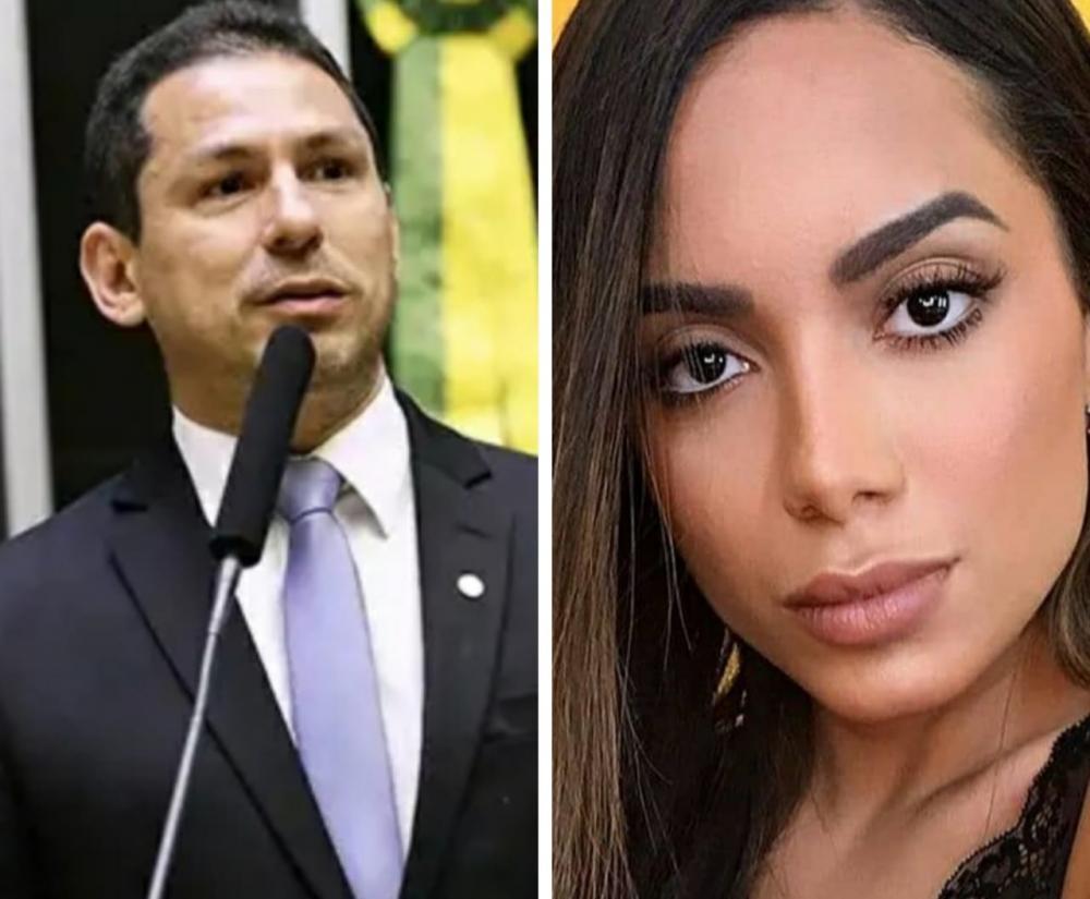 Marcelo Ramos e Anitta.