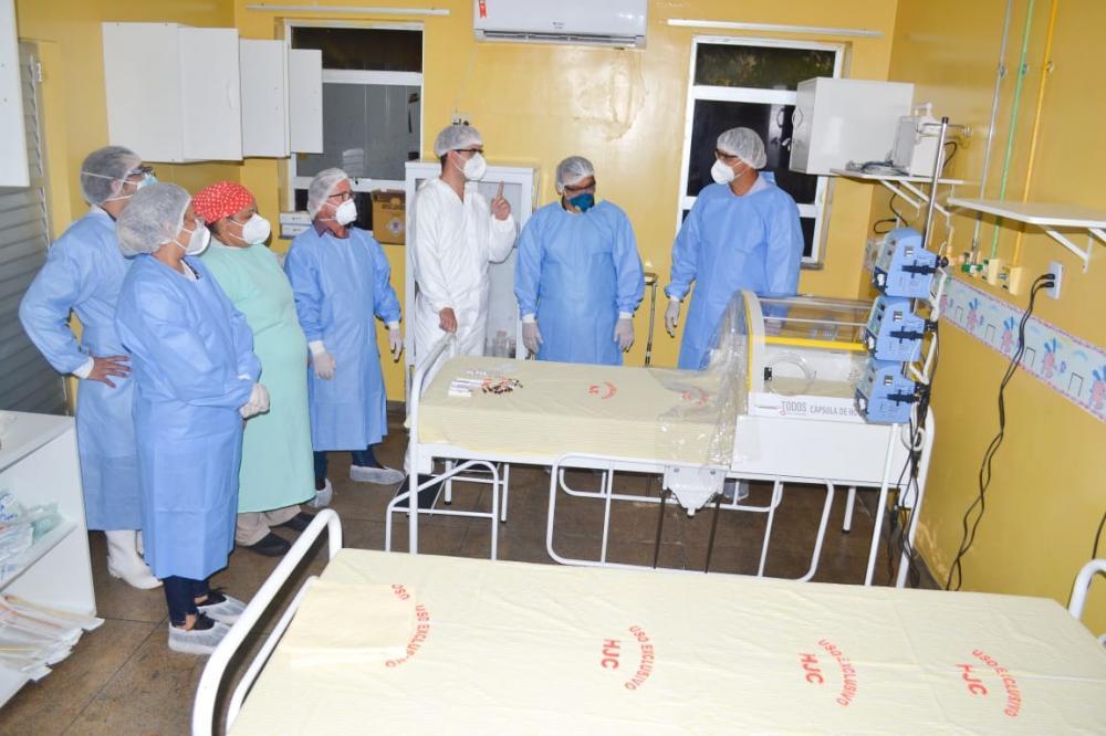 Prefeitura inaugura ala com novos leitos no hospital Jofre Cohen